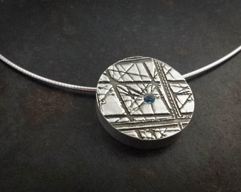Louvre Glass Pyramid Necklace