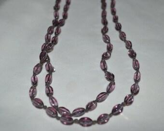 Amethyst Color Necklace