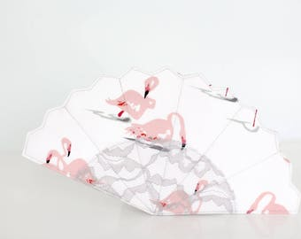 The Royal Breeze Hand fan - PDF Sewing Pattern