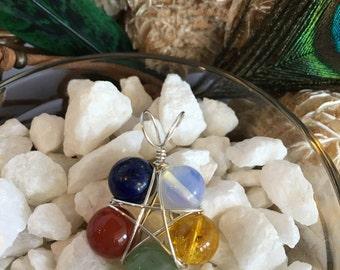 Elemental Blessing Pentacle Pendant