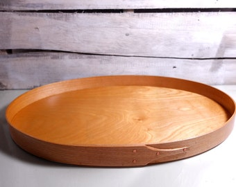 Shaker Tray, Handmade in Birch, Size 6, serving tray, tea tray, desk organizer, counter organizer, decorative piece