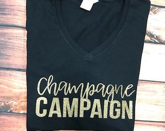 Champagne Campaign Top