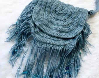 Crochet Boho Purse