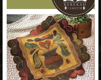 Garden Hearts Pattern by Rebekah Smith