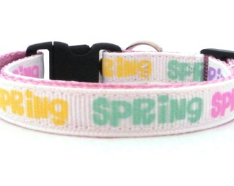 The Spring Breakaway Cat Collar