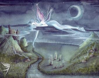 Adrift A4 Art Print