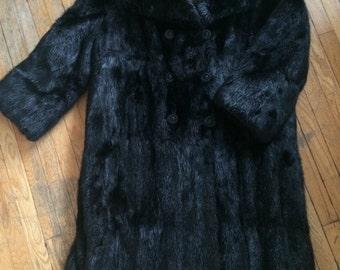 Pristine Vintage Fur Coat