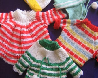 Doll clothes knitwear lot (Free shipping)