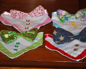 The Holiday collection of Set of 4 Formaldana's Bandana with the formal look