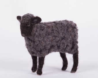 Sheep  Needle felted  wool sheep