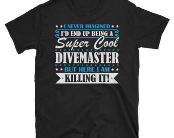 Divemaster Shirt, Divemaster Gifts, Divemaster, Super Cool Divemaster, Gifts For Divemaster, Divemaster Tshirt, Funny Gift For Divemaster