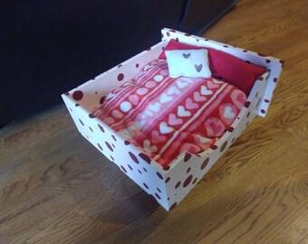 Valetine bed for Valentine furbaby