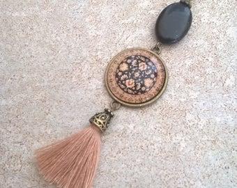 tassel bohemian necklace trend ,oriental pattern style