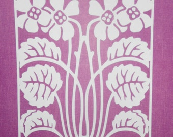 Lace Flower Cut Out svg cricut file