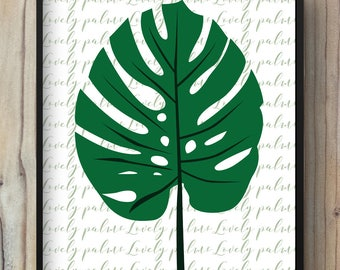 Poster tropical leaf with toucan