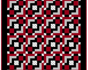 Illusion Quilt Pattern - PDF Only