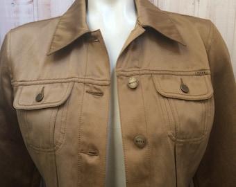 Vintage - jacket Mexx-jacket - color gold - 36 or 6 - Cotton