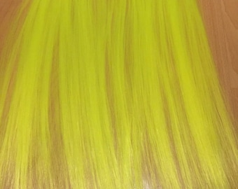clip in extensions Neon Yellow