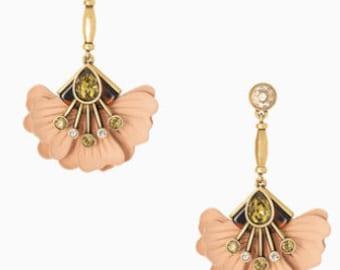Rory Floral Drop Earrings