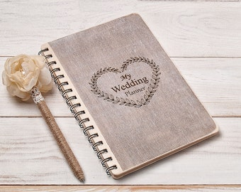 Wedding Planner Book Bride Notebook Wedding Planner Organizer Notebook Organising Wedding Journal Bridal Shower Gift Engagement for Bride
