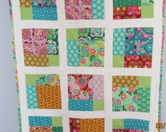 Baby Quilt featuring Amy Butler Fabrics