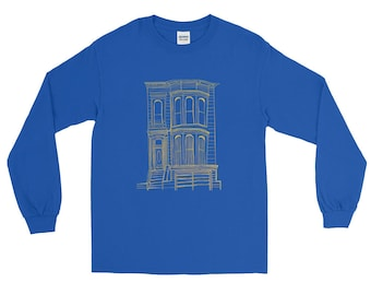 San Francisco Victorian Long Sleeve T-Shirt