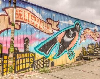Baltimore Art, Believe, Baltimore, Station North,  Fine Art Photograph