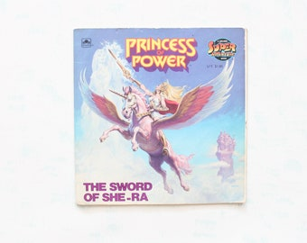 The Sword of She-Ra Paperback Book from 1985