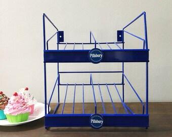 Bakers Rack /Pillsbury Store Rack / Bakery Rack / Pie Rack / Pastry Display Rack / Pie Stand