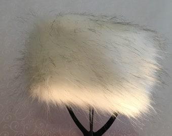 Winter White Luxe Shag Faux Fur Hat