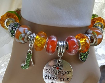Stronger Than The Storm Cross Inspiration Wrist Fashion Mother's Birthday Gift