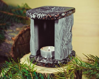 Essential Fragrance Oil Burners Aromatherapy SHUNGITE & GRANITE stone Shungit #L8