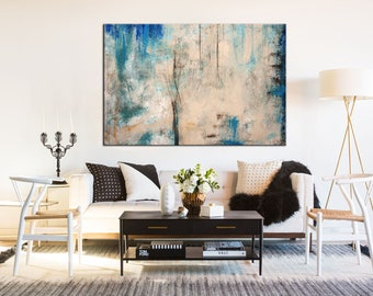 Original art, Large Canvas Art, Large Abstract Art, Abstract Canvas, Texture knife, Original Large Art, Textured Painting, Home decor art