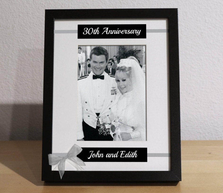 30th Anniversary Gift For Parents 30th Anniversary Gift 30th
