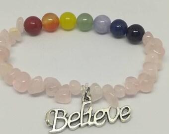 Women chakra balancing bracelet