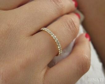 Stackable Diamond Eternity Band Diamond Eternity Ring
