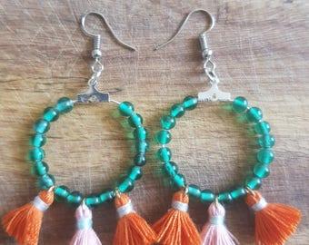 Vibrant earrings