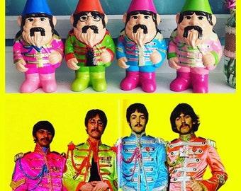The Beatles gnome set