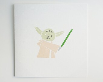 Yoda / Star Wars / Card