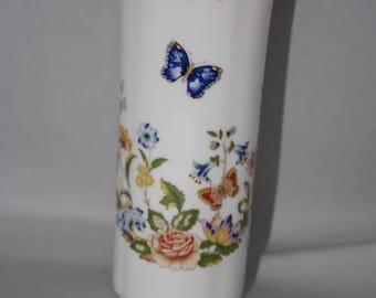 "Aynsley "" Cottage Garden"" Fine Bone China Vase Made in England"