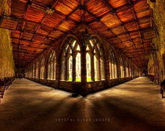 Durham Cathedral Cloisters Canvas Print