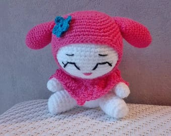 Amigurumi Happy Mary doll