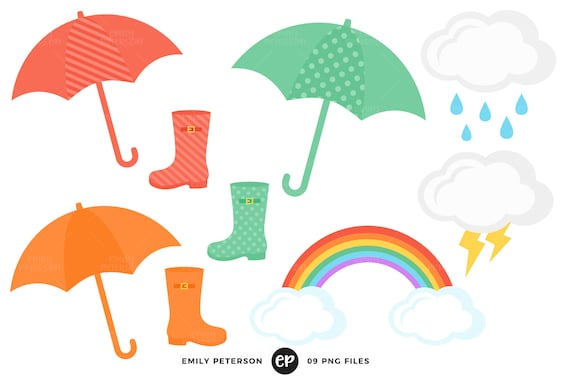 rain clip art spring clipart april showers clip art rh etsy com clip art for aprons clip art for april fools day