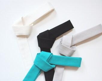 Skinny Tie- Jade