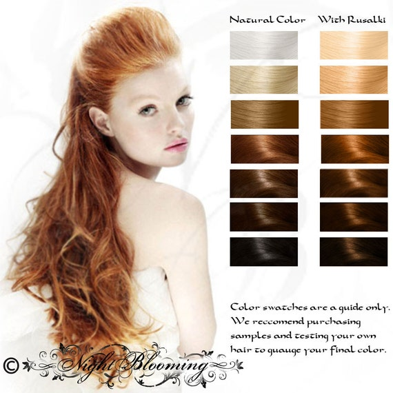 Strawberry Blonde Rusalki Herbal Hair Color And Conditioner