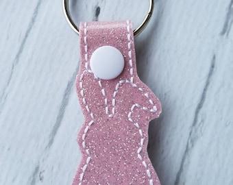 Bunny Tail Keychain