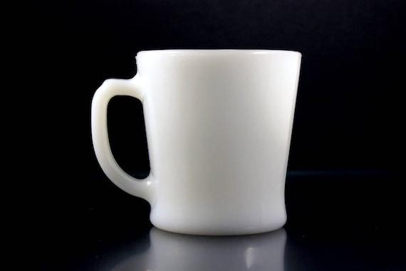 Coffee Mug, Anchor Hocking, Fire King, Oven Proof, Milk Glass, Retro, Tea Mug, Hot Chocolate Mug