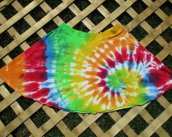 Tie Dye Skater Skirt (L)