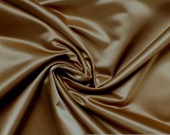 Fabric Trevira® CS satin bronze not flammable