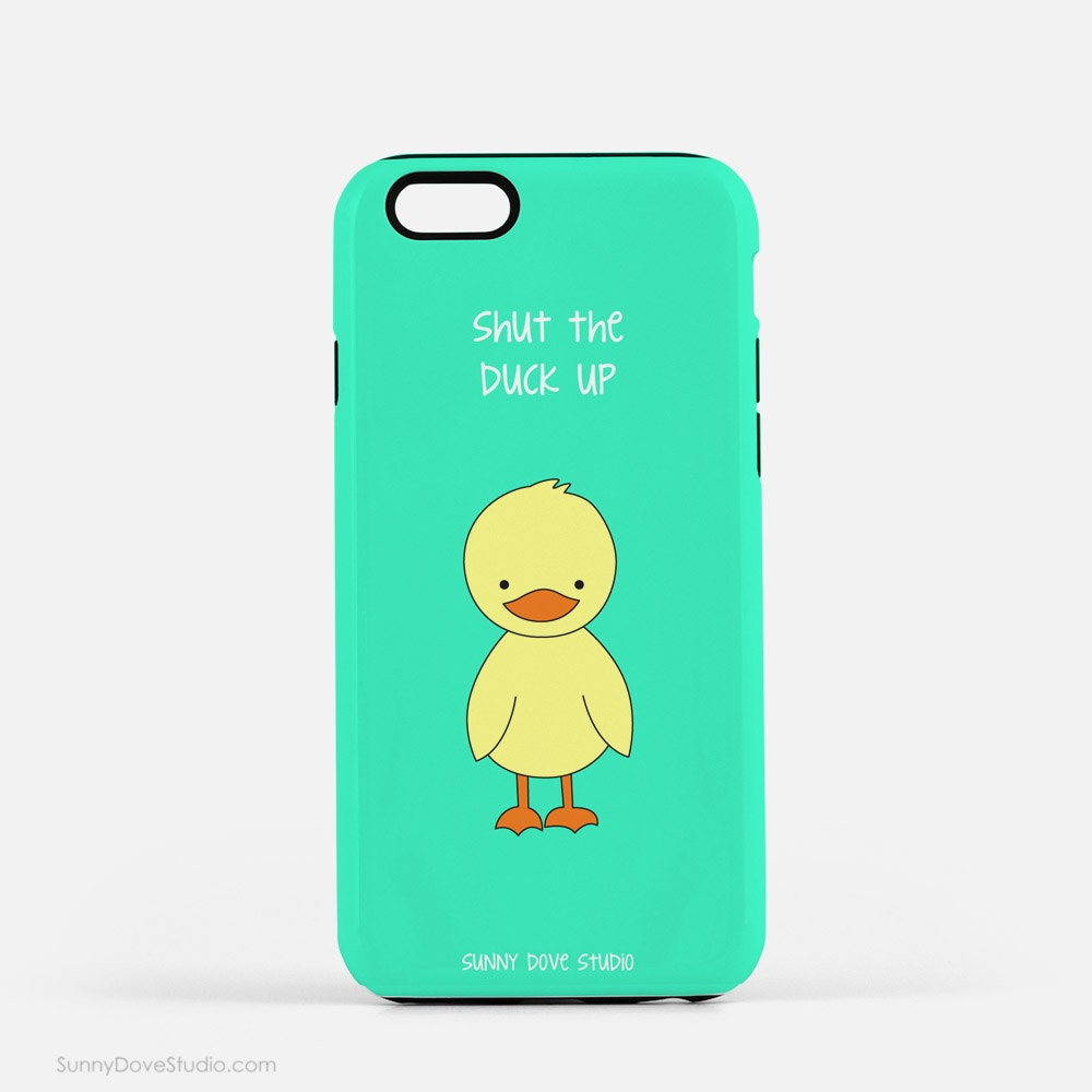 Funny Phone Case Cute IPhone Cases Duck Pun Gift For
